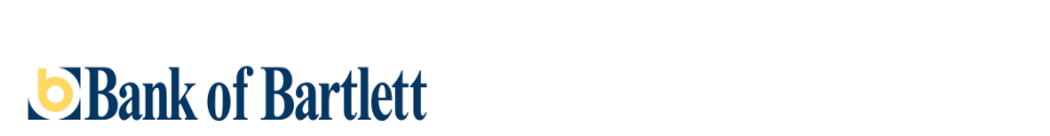Bank of Bartlett Logo