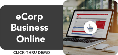 eCorp Business Online Click-Thru Demo (Desktop)