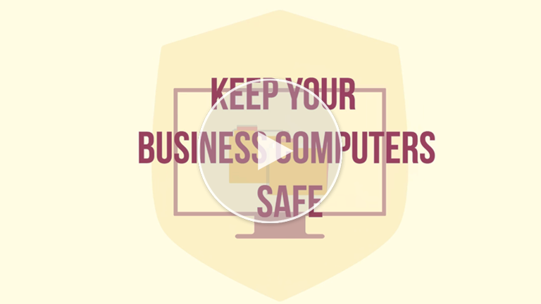 Teach staff how to keep business computers, devices safe from cyber crime
