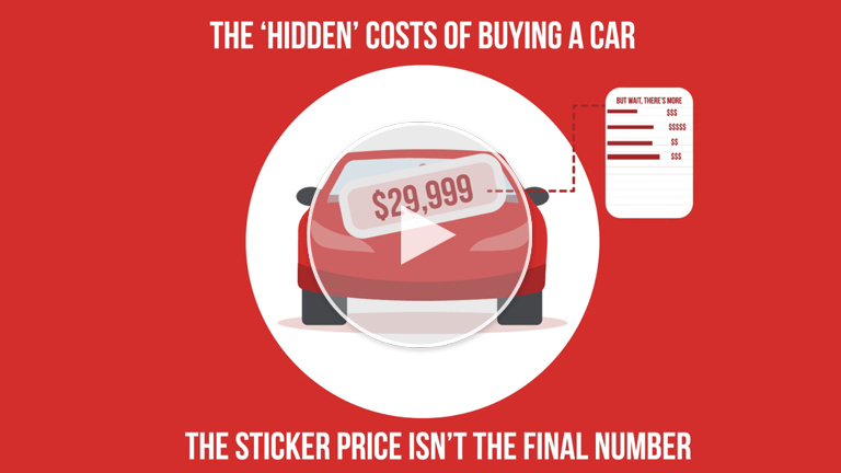 The 'Hidden' Costs Of Buying A Car