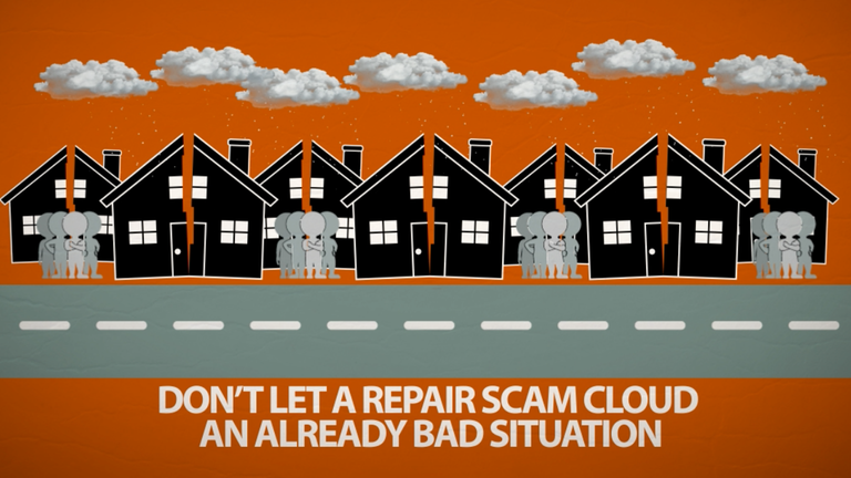Don't Get Hit By Storm Damage Scams