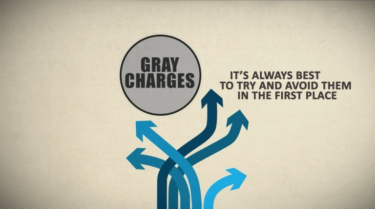 Watch for 'Gray Charges'