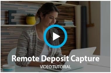 Remote Deposit Video Tutorial