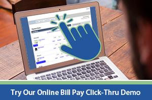 Online Bill Pay Click-Thru Demo (Desktop)