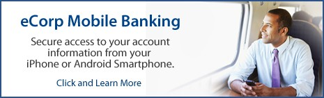 eCorp Mobile Banking