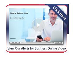 Business Online Banking - Alerts
