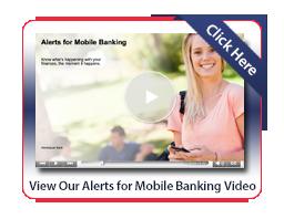 Mobile Banking - Alerts