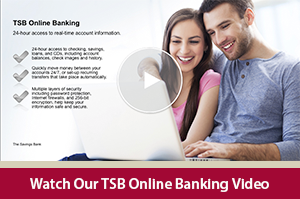 Learn how to manage your personal accounts online with the TSB Online Banking video