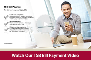 Learn how to manage your bill payments with our TSB Bill Pay video