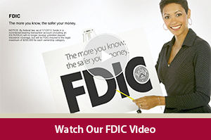Learn all about the Federal Deposit Insurance Corporation with our FDIC video