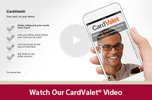 Learn how to use your cards using your phone with the CardValet App video