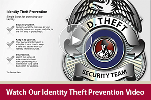 Learn how to keep you sensitive info safe with this Identity Theft Prevention video