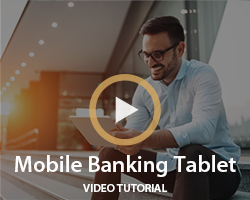 Mobile Banking Tablet 2017