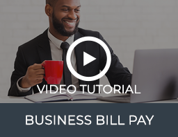 Business Bill Pay Video