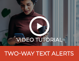 Two Way Text Alerts Video