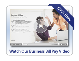 Business Bill Pay Video