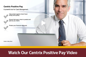 Positive Pay Interactive Video Player