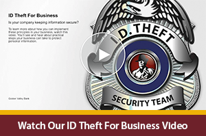 ID Theft for Business Video