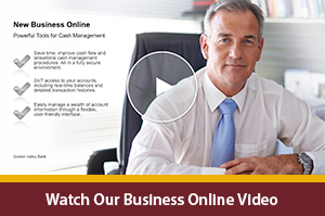 Business Online Banking Video