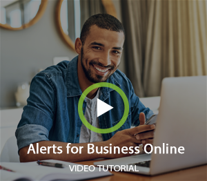 Alerts for Business Online