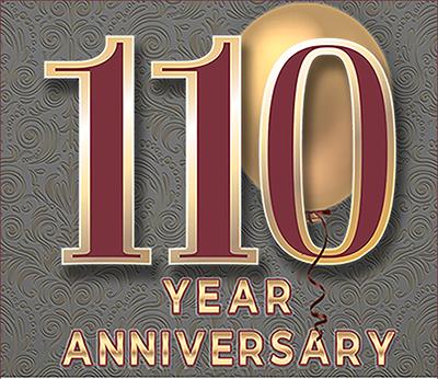 110 year anniversary ad