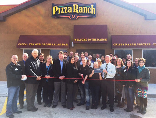 Pizza Ranch Ribbon Cutting