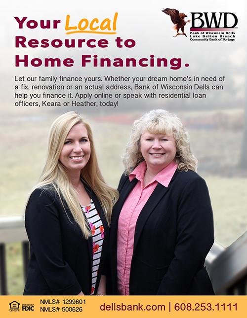 residential lending flyer