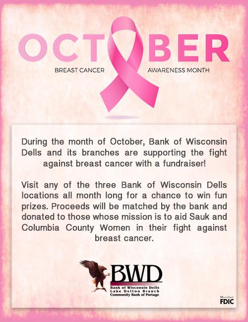 Breast Cancer Awareness fundraising flier