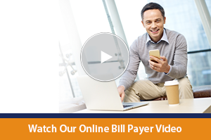 A video about the benefits and conveniences of online bill pay.