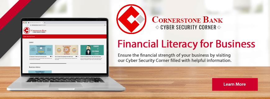 Desktop Cyber Security Corner for Business Image