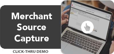 Merchant Source Capture Click-Thru Demo (Desktop)