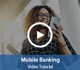 Interactive Video Player Mobile Banking