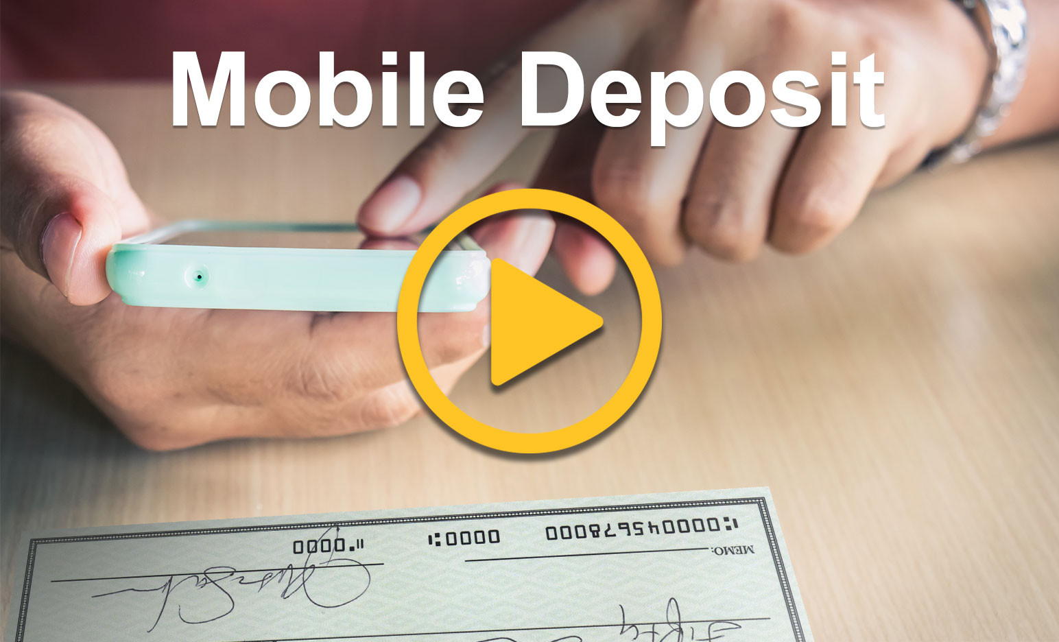 Mobile Deposit Demo