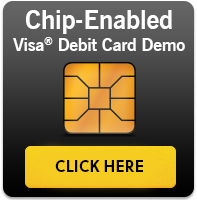 Chip Enabled Visa Debit Card Demo