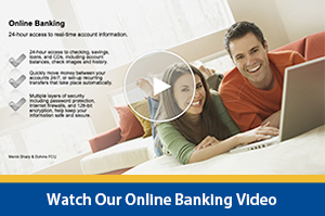 watch the online banking Interactive Video Player
