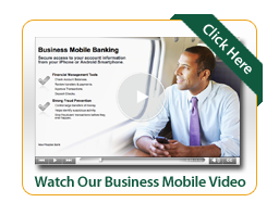 Business mobile video image with man looking out airplane window