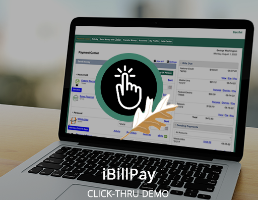 iBillPay Click-Thru Demo (Desktop)
