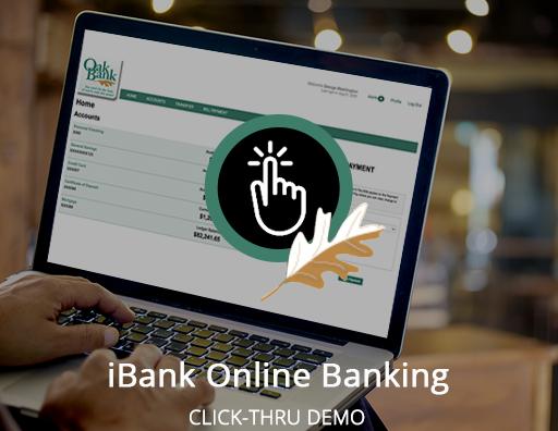 Online Banking Click-Thru Demo (Desktop)