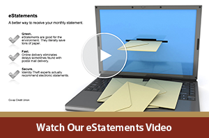 Click to watch our eStatements video