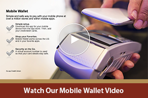 Click to Watch Our Mobile Wallet Video