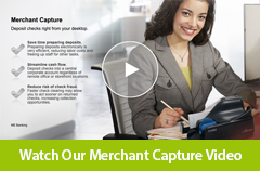Watch our Merchant Capture video