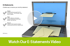 Watch our E-Statements video