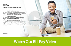 Watch our Bill Pay video