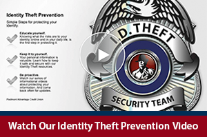 Identity Theft Prevention Video