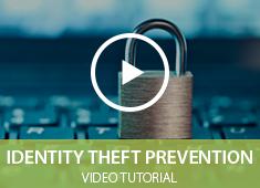 Prevent Identity Theft Video