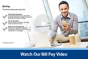Interactive Video Player - Bill Pay Video