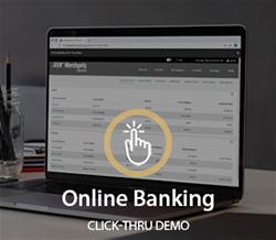 Desktop Online Banking Click-Thru Demo Image