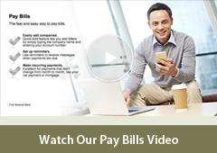 Personal Bill Pay Video