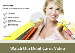 Personal Debit Cards Video