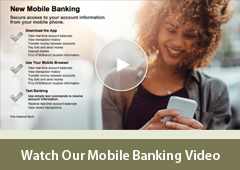 Mobile Banking Video Player